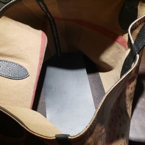 Burberry Bags - Burberry Reversible Doodle Tote
